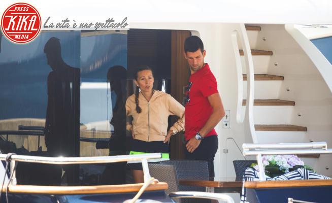Jelena Ristic, Novak Djokovic - 17-06-2020 - Djokovic positivo al Covid, all'Adria Tour era arrivato in yacht