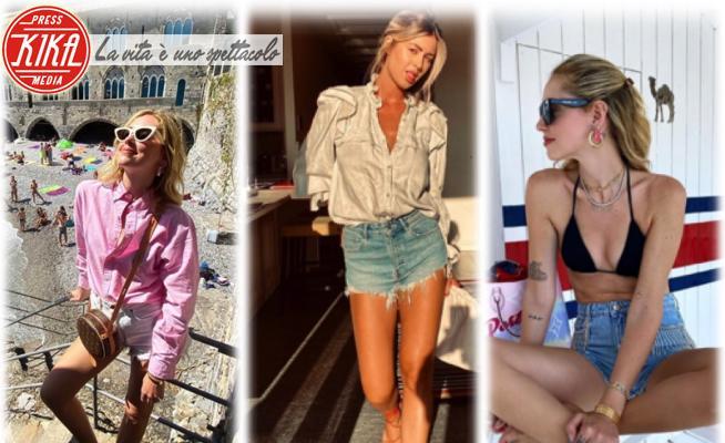 Roberta Sinopoli, Chiara Ferragni - 23-06-2020 - Estate 2020: troppo caldo? Gambe al fresco con gli shorts!