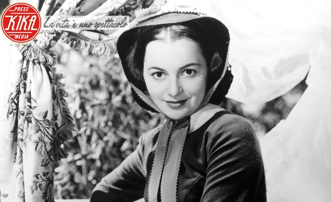 OLIVIA DE HAVILLAND., Via col vento - 01-01-1939 - Olivia de Havilland, Melania di Via col Vento compie 104 anni