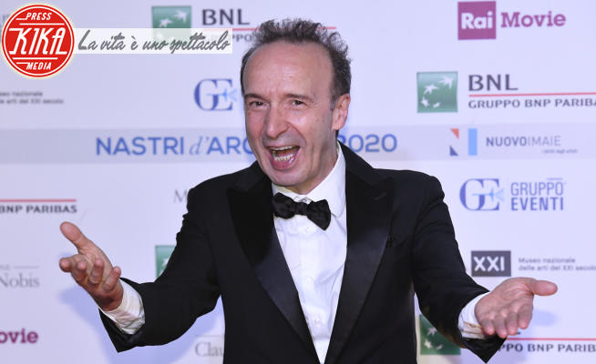 Roberto Benigni - Roma - 06-07-2020 - Nastri d'Argento 2020: trionfano Pinocchio, Diodato, Favolacce
