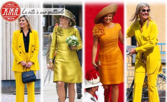 Regina Maxima d'Olanda - 08-07-2020 - Maxima d'Olanda, la regina in giallo delle monarchie europee