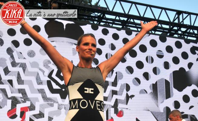 Iron ciapet, Michelle Hunziker - Cervia - 01-07-2020 - Michelle Hunziker fitness coach: tutti in forma con Iron Ciapet!
