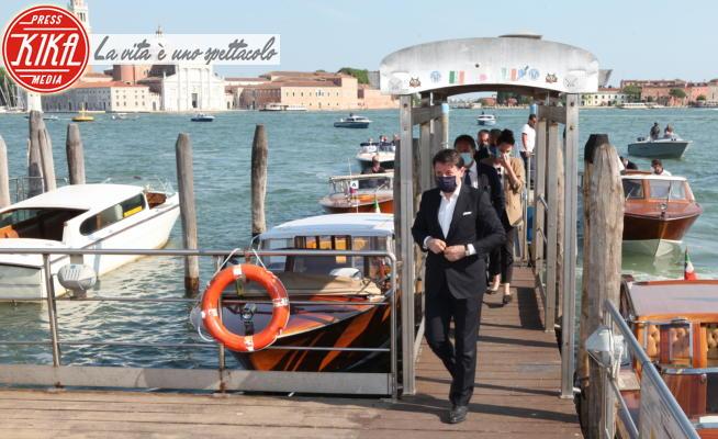 Giuseppe Conte - Venezia - 10-07-2020 - Bagno di folla a Venezia per il premier Giuseppe Conte