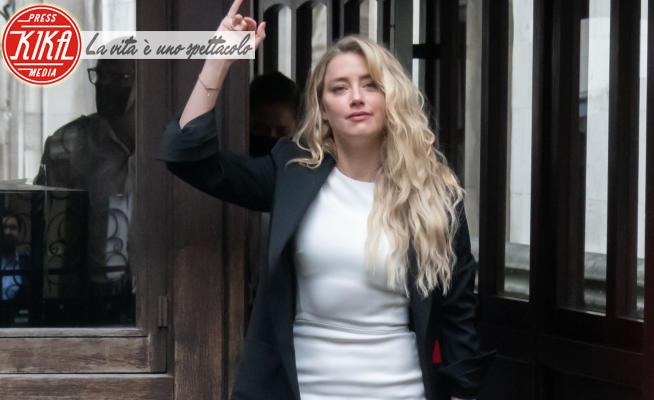 Amber Heard - Londra - 27-07-2020 - Amber Heard e Johnny Depp: tutti i look del processo