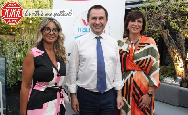 Marianna Riccardi, Barbara Preziosi, Ettore Rosato - Casoria - 31-07-2020 - Regionali 2020: Ettore Rosato a Casoria