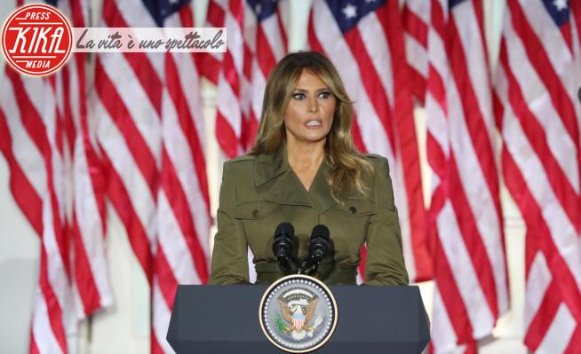 Melania Trump - Washington - 25-08-2020 -  Melania Trump, il discorso alla Convention repubblicana