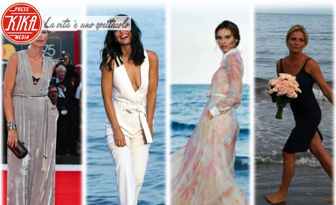 Kasia Smutniak, Alessandra Mastronardi, Anna Foglietta, Isabella Ferrari - Venezia - 01-09-2020 - Venezia 77: da Foglietta a Ferrari, madrina è sempre la bellezza