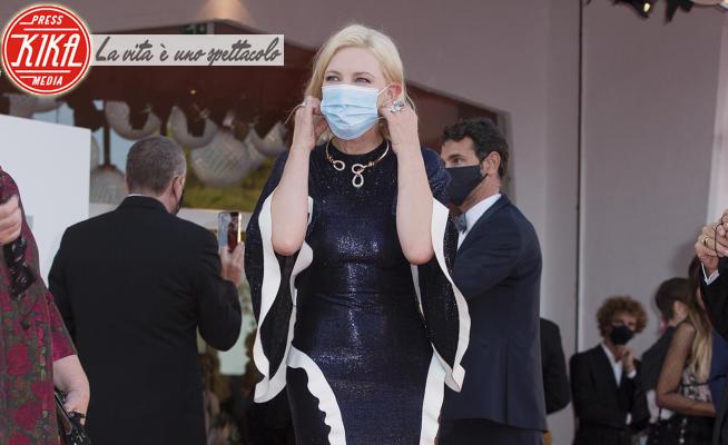 Cate Blanchett - Venice - 02-09-2020 - Venezia 77, il primo red carpet in maschera