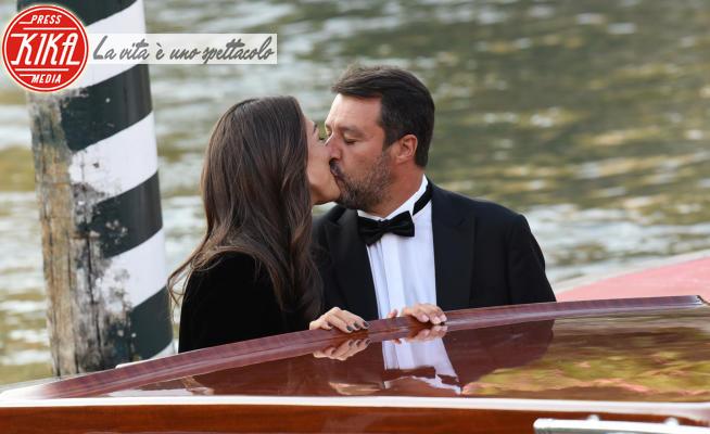 Francesca Verdini, Matteo Salvini - Venezia - 04-09-2020 - Venezia 77, la La la land di Matteo Salvini e Francesca Verdini