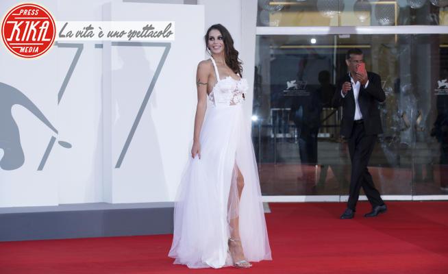 Antonella Fiordelisi - Venezia - 09-09-2020 - Venezia 77: le star vanno in bianco... sul tappeto rosso!