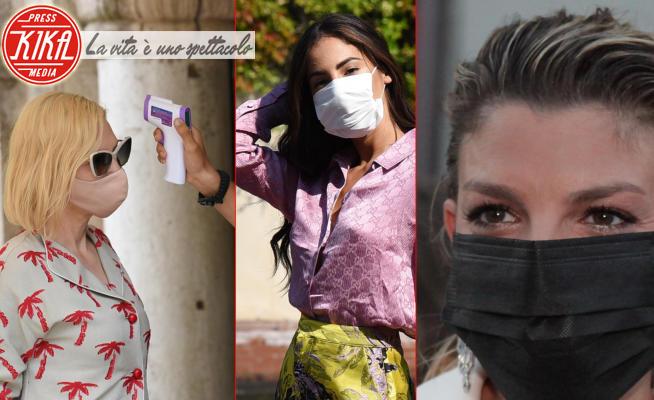 Giulia De Lellis, Emma Marrone, Cate Blanchett - Venezia - 04-09-2020 - Il Festival anti-covid, tra mascherine e termometri