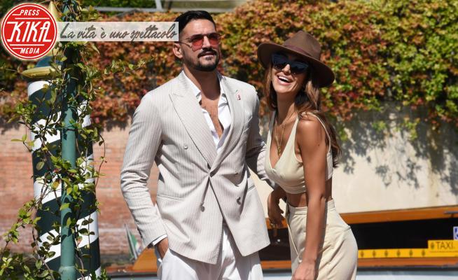 Pietro Tartaglione, Rosa Perrotta - Venezia - 11-09-2020 - Venezia 77: Rosa Perrotta e Pietro Tartaglione, amore in laguna