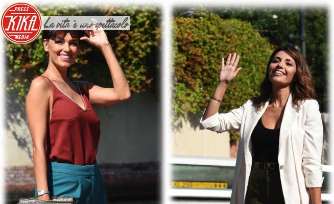 Serena Rossi, Giorgia Surina - Venezia - 11-09-2020 - Venezia 77: Serena Rossi e Giorgia Surina, chic in panta palazzo