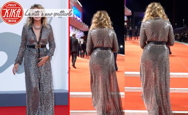 Valeria Golino - 13-09-2020 - Venezia 77, sul red carpet finale brilla Valeria Golino