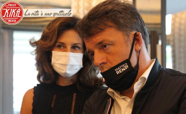 Agnese Landini, Matteo Renzi - Napoli - 25-09-2020 - Renzi e Agnese Landini a Napoli, obiettivo sorpasso al M5S