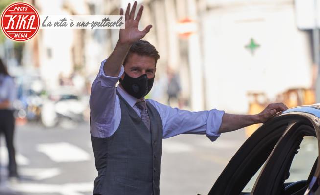Tom Cruise - Roma - 09-10-2020 - Tom Cruise ligio alle regole: (quasi) mai senza mascherina