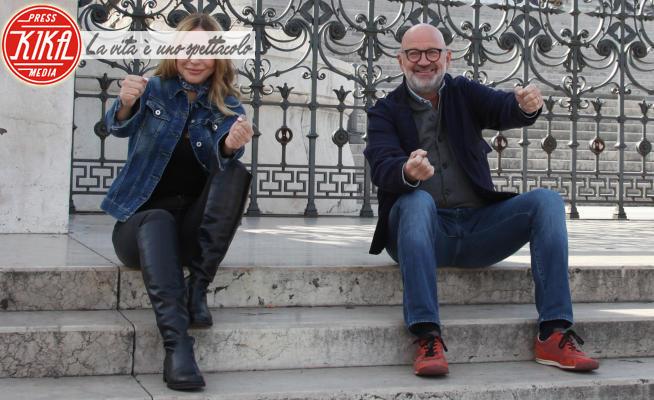 Laura Forgia, Marco Mazzocchi - Roma - 13-10-2020 - Stop and go, Mazzocchi-Forgia, la coppia di Rai Due