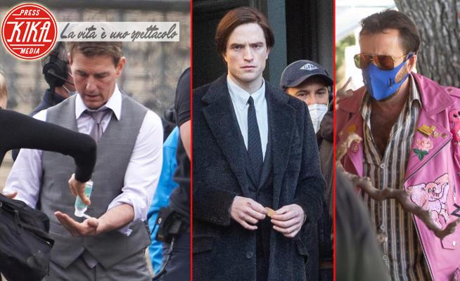 Robert Pattinson, Nicolas Cage, Tom Cruise - 14-10-2020 - Il cinema riparte in sicurezza: sul set contro il Covid