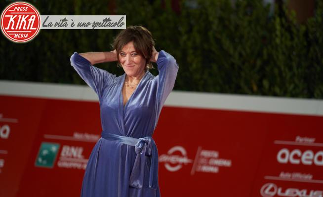 Valeria Bruni Tedeschi - Roma - 17-10-2020 - RomaCinemaFest, Valeria Bruni Tedeschi in viola sul red carpet