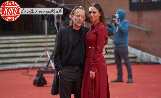 Thom Yorke, Dajana Roncione - Roma - 24-10-2020 - RomaCinemaFest: Thom Yorke e Dajana Roncione sul red carpet