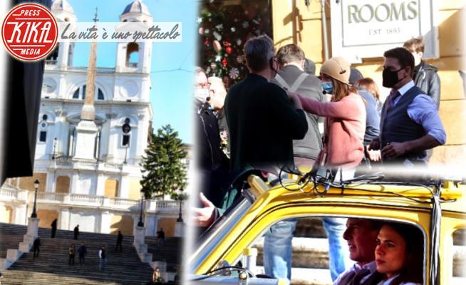 Mission Impossible 7 - Roma - 23-11-2020 - Mission: Impossible torna a Roma, Tom Cruise a Trinità dei Monti