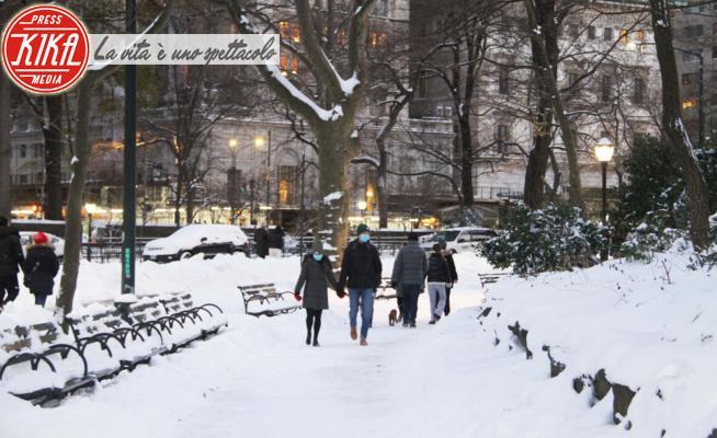Neve a New York - New York - 17-12-2020 - A New York è già un Bianco Natale: in slitta a Central Park!