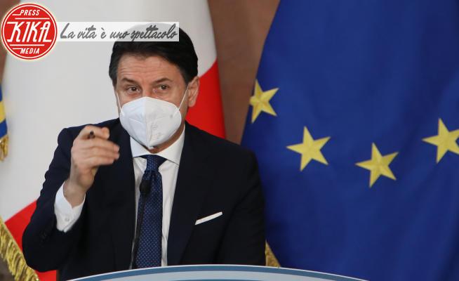 Giuseppe Conte - Roma - 30-12-2020 - Il premier Giuseppe Conte alla conferenza stampa di fine anno