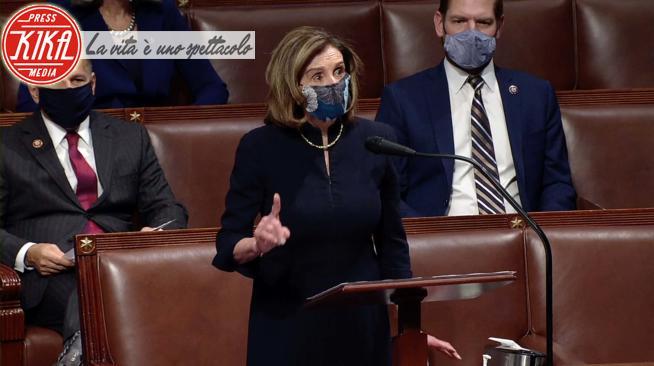 Nancy Pelosi - Washington - 13-01-2021 - Donald Trump, la Camera vota l'impeachment