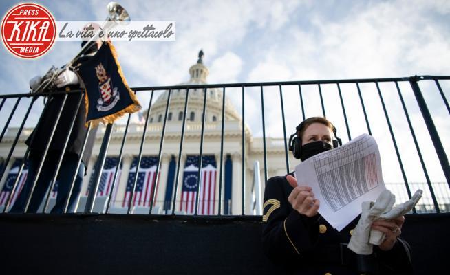 Casa bianca - Washington - 18-01-2021 - Washington si prepara: tra poche ore l'insediamento di Joe Biden