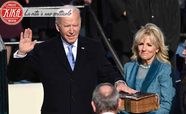 Jill Biden, Joe Biden - Washington - 20-01-2021 - Joe Biden è il 46esimo Presidente degli Stati Uniti