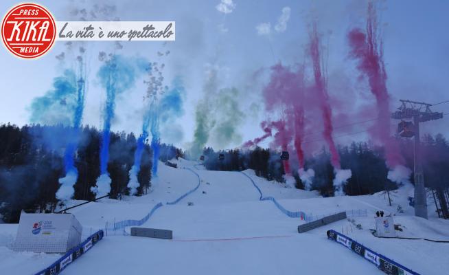 cerimonia di chiusura - Cortina - 21-02-2021 - Cortina 2021, lo slalom maschile chiude le competizioni