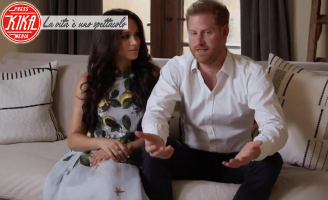Meghan Markle, Principe Harry - Los Angeles - 23-02-2021 - Harry e Meghan tornano a farsi sentire (con look da 3mila euro)