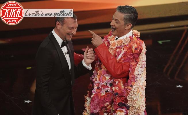 Amadeus, Rosario Fiorello - Sanremo - 02-03-2021 - Sanremo 2021: Amadeus e Fiorello partono con Grazie dei Fior