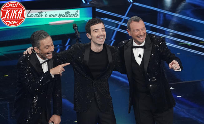 Diodato, Amadeus, Rosario Fiorello - Sanremo - 02-03-2021 - Sanremo 2021: Diodato torna da vincitore, Arisa prima BIG