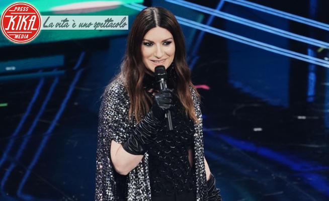 Laura Pausini - Sanremo - 03-03-2021 -  Sanremo 2021, la Pausini tra Golden Globe e lingua a cammello