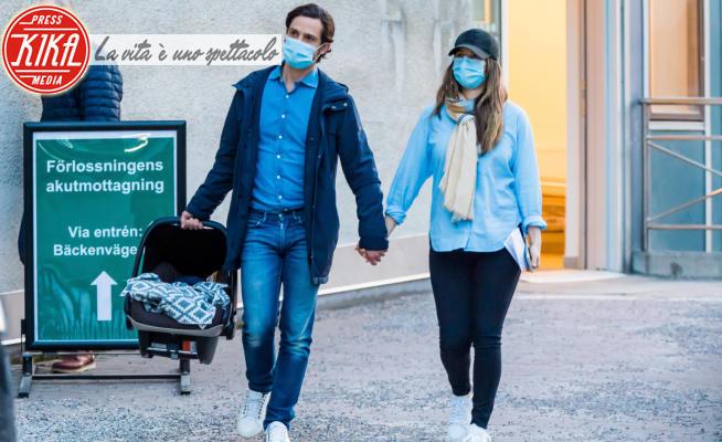 Principe Julian Herbert Folke, Principe Carlo Filippo di Svezia, Principessa Sofia di Svezia - Stoccolma - 26-03-2021 - La principessa Sofia di Svezia ancora mamma: benvenuto Julian!