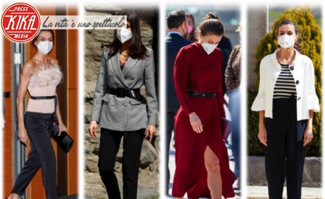 Letizia Ortiz - 30-03-2021 - Piume, spacco, bolero, ballerine: che stile, Letizia di Spagna!
