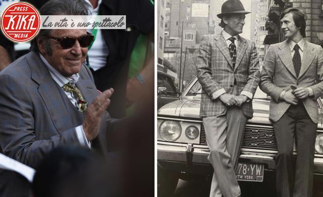 Aldo Gucci, Al Pacino - Roma - 31-03-2021 - Al Pacino e Aldo Gucci, si somigliano?