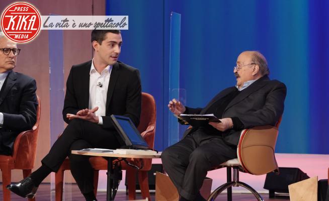 Tommaso Zorzi, Maurizio Costanzo - Roma - 07-04-2021 - Maurizio Costanzo Show, 3a puntata: omofobia, Zorzi all'attacco