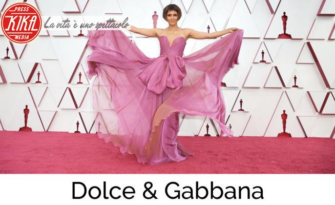Halle Berry - Los Angeles - 25-04-2021 - Oscar 2021, gli stilisti sul tappeto rosso