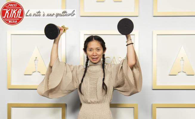 Academy Awards 2021: PRESS ROOM, Chloe Zhao - Los Angeles - 25-04-2021 - Oscar 2021, trionfa Chloé Zhao con Nomadland