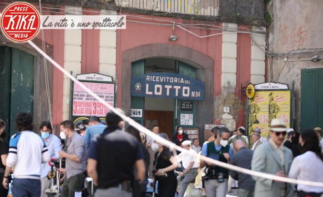 Non ti pago, Set Non Ti Pago - Napoli - 08-05-2021 - Napoli, a Piazza del Gesù si gira Non ti pago