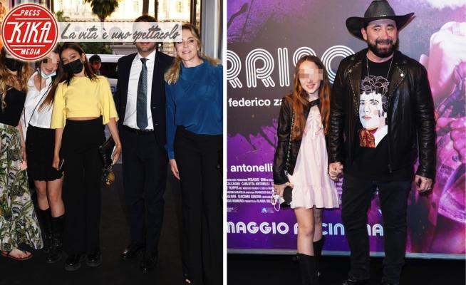 Il black carpet di Morrison riunisce gli ex coniugi Zampaglione