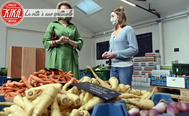 Regina Mathilde del Belgio - Brussels - 27-05-2021 - Mathilde dei Belgio in verde, regina... della sostenibilità!