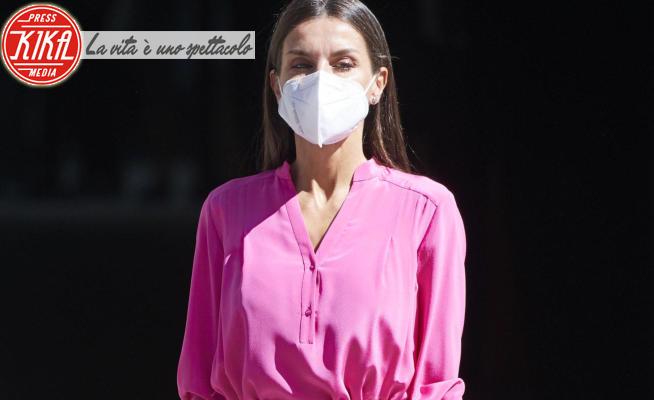 Letizia Ortiz - Madrid - 09-06-2021 - Letizia di Spagna: dove comprare il suo abito a 30 euro