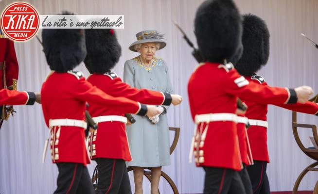 Regina Elisabetta II - Windsor - 12-06-2021 - Windsor, Trooping the colour ristretto causa Covid