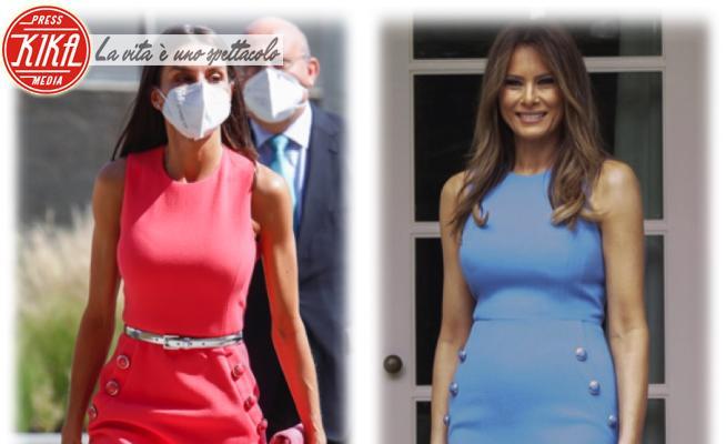 Melania Trump, Letizia Ortiz - 15-06-2021 - Letizia di Spagna e Melania Trump: chi lo indossa meglio?