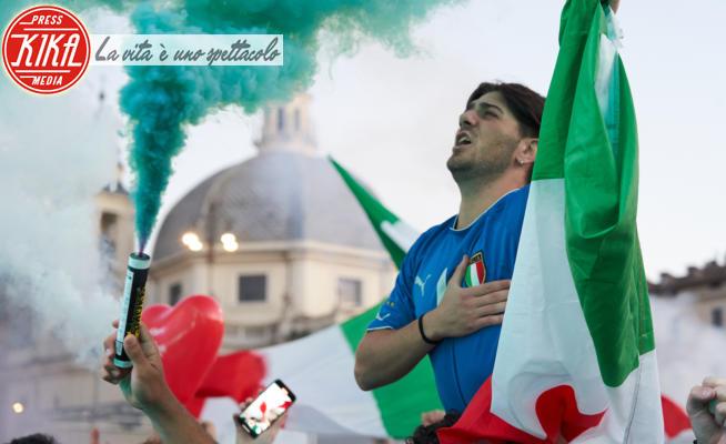 Tifosi italiani - Roma - 26-06-2021 - Euro 2020: l'Italia batte l'Austria 2-1 e vola ai quarti