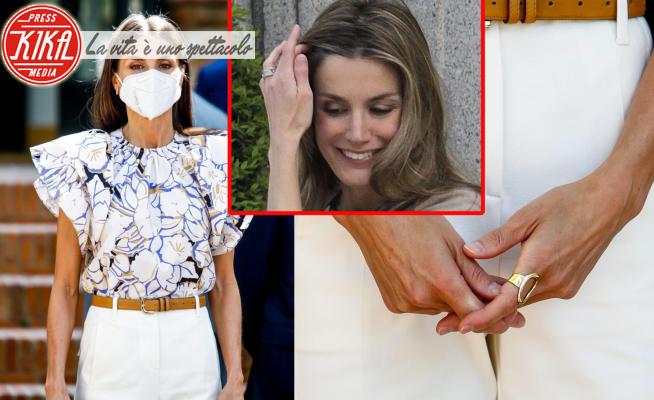 Perché la regina Letizia non usa fede e anello di fidanzamento?