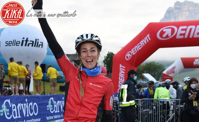 Johanna Maggy - Cortina - 04-07-2021 - Maratona dles Dolomites-Enel, le star presenti alla granfondo